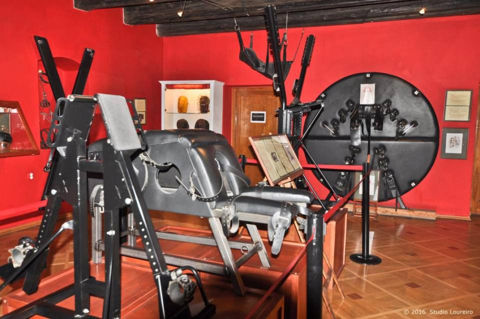 Being the first museum in the world devoted to erotic and sexual gadgets, the Sex Machines Museum has an amazing collection of subjects in a building from the 17th century. It has been restored in 2004 and its has 3 floors divided in old erotic cinema and clothing, sex machines gallery and the permanent gallery. Open daily from 10am until 11pm, it has a very interesting collection of articles of all kind. By the time I got there, late night, and I must confess, after a few drinks at amazing Black Angel's Bar (a few steps away, also located in Old Town Square) my mind was completely in the mood for it. For 10 euros you can stay there as long as you want, and better yet, photograph. Yes, you can photograph.