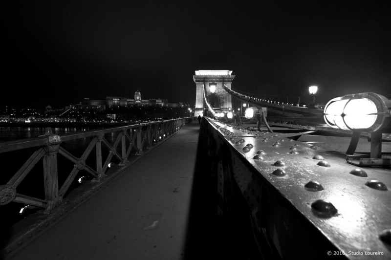 The bridges of Budapest are simply wonderful, a beautiful work of architecture. It's impossible not to be mesmerized by it. So to say, The Chain Bridge (Széchenyi lánchíd) over the Danube is one of the most famous images of Budapest, not to say an icon of Hungary. This bridge between Pest and Buda offers the spectacular view of the city. On the Pest side, the pointed towers of the Parliament Building cut the Danube, while the Buda Castle stands on the other side.