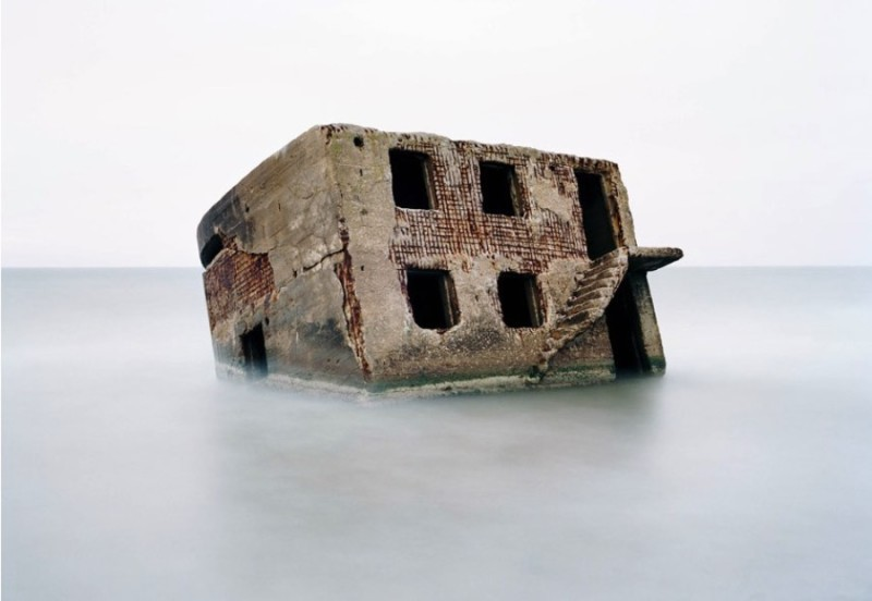 Relics of the Cold War: Bunker in the Baltic Sea, Latvia
