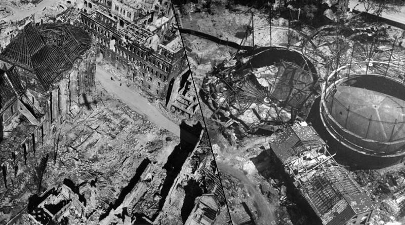 Second World War in Germany: The Battered Face of a Country