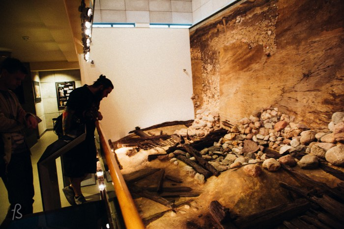 Genius Loci Archeological Park is for hardcore history lovers like me. There you can see a different view into Poznan's medieval past. This is an archeological site where you can unearth, reconstruct and understand how was the life of the people that used to live on the Cathedral Island more than a thousand years ago.