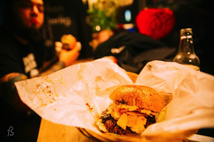 If you want to try some burgers in Poznan, look no further than Święta Krowa. This cozy burger joint serves great burgers that are 100% beef and they even play around with a monthly special burger. Try it out.