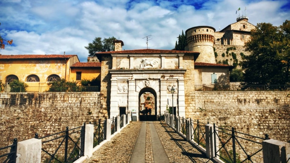 The Castle of Brescia: Our visit to the Falcon of Italy