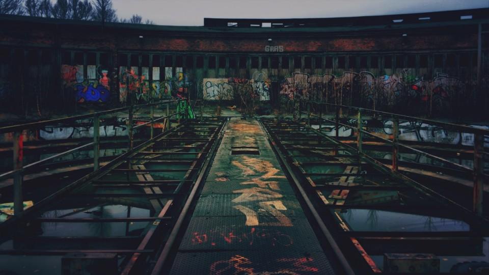 Exploring the abandoned Güterbahnhof Pankow-Heinersdorf