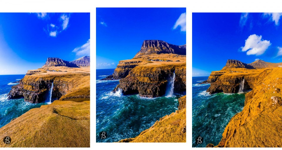On the west side of an island called Vágar is where you are going to find Gásadalur, one of the most beautiful places we ever saw in our lives. This village in Faroe Islands is know for a waterfall that we decided to describe as nature wallpaper based on how amazing it looks like. The pictures below are going to be enough to convince you to take a plane and visit this amazing country located between Scotland, Iceland and Norway.