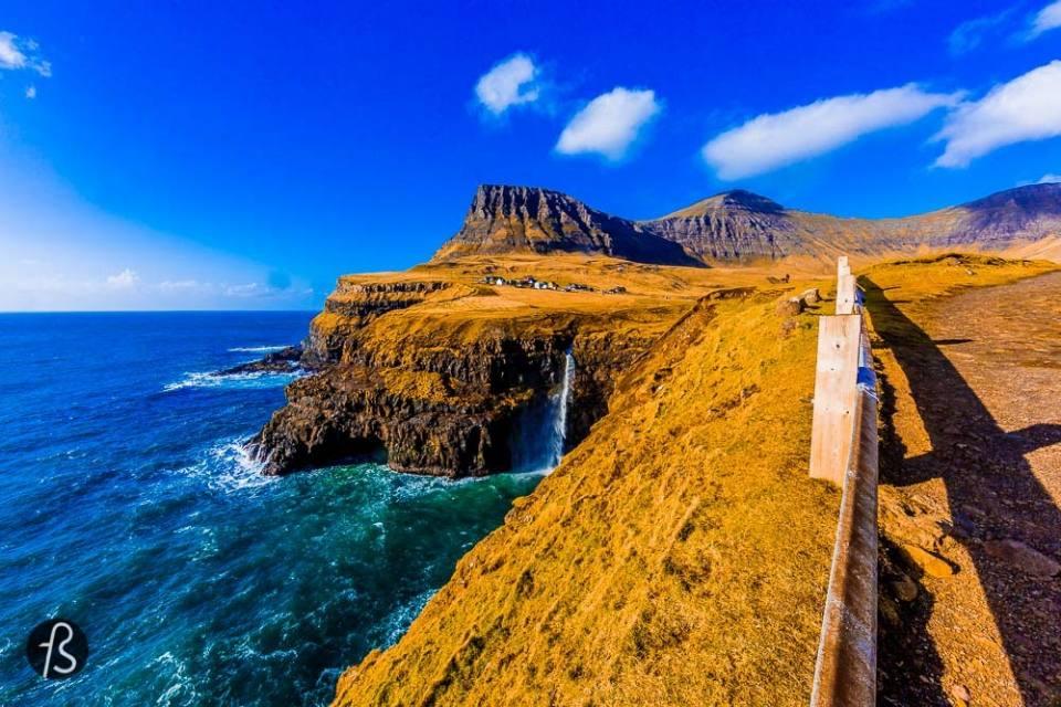 Nature Wallpaper: Gasadalur in Faroe Island