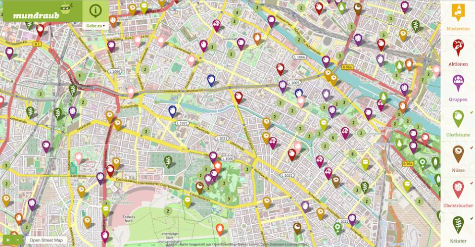 Where to find free fruits in Berlin (and Europe)