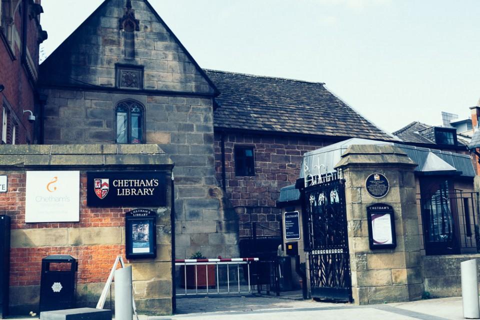 The start of communism: Chetham's Library