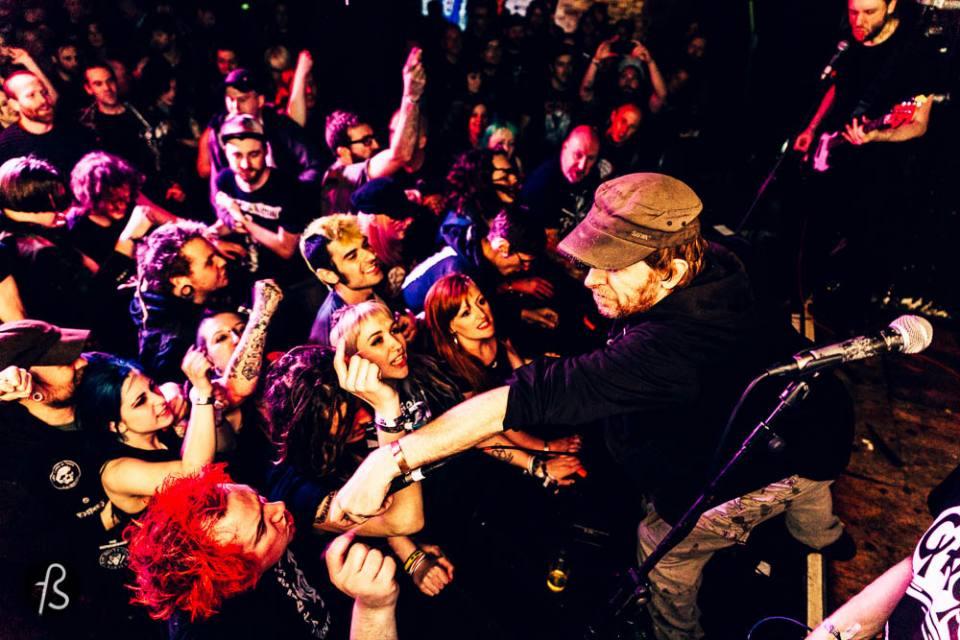 Oi Polloi live at  Manchester Punk Festival