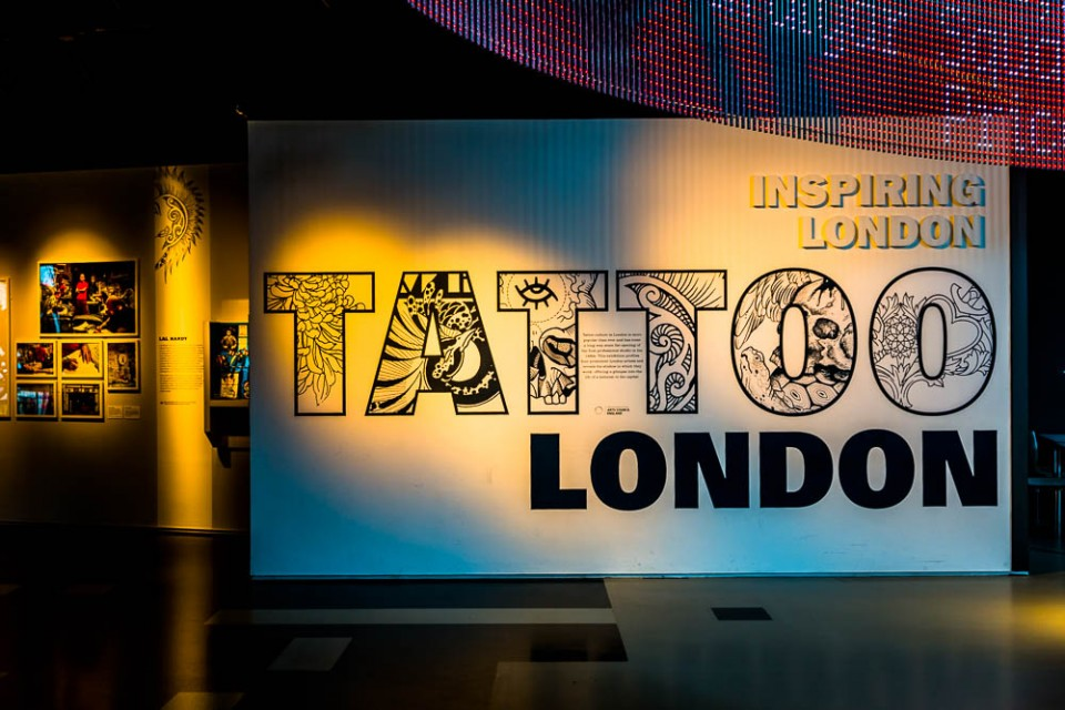 Tattoos in the Museum of London and 40 years of Punk