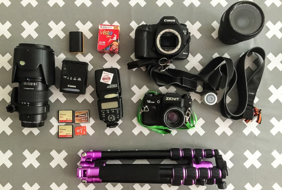 How to become a photographer: Travel Photo Gear