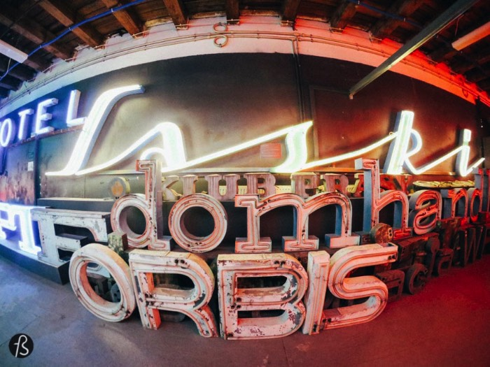 Everything started back in 2005 when David Hill and Ilona Karwinska decided to do a photographic documentation project called Polish Neon. It was also there that they started with the renovation and preservation of the remaining cold war neon signs around Warsaw. Since then, the museum's collection has grown in size and nowadays it displays hundreds of different signs. Some even say that they have the largest collection of neon signs anywhere in Europe and we have to agree with that.