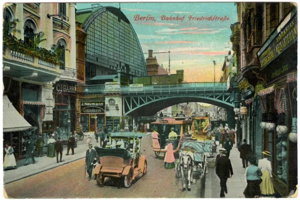 Berlin Streets Between 1900 and 1914 in Video