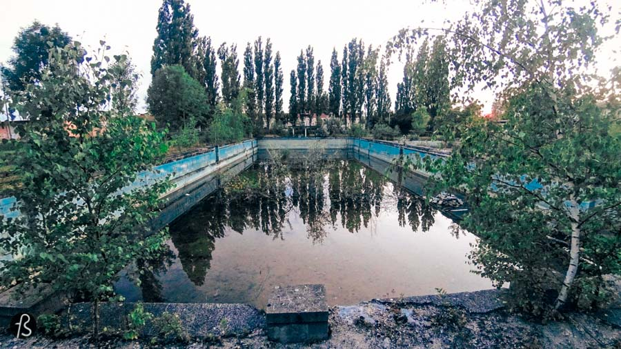 The Abandoned Freibad Lichtenberg Pool