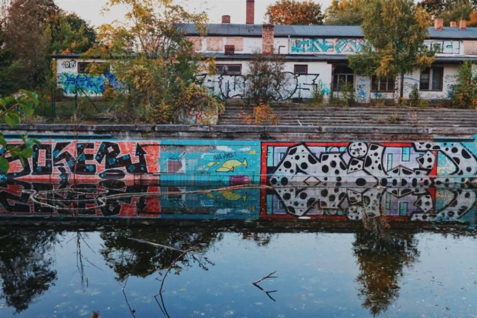 The Abandoned Freibad Lichtenberg Pool