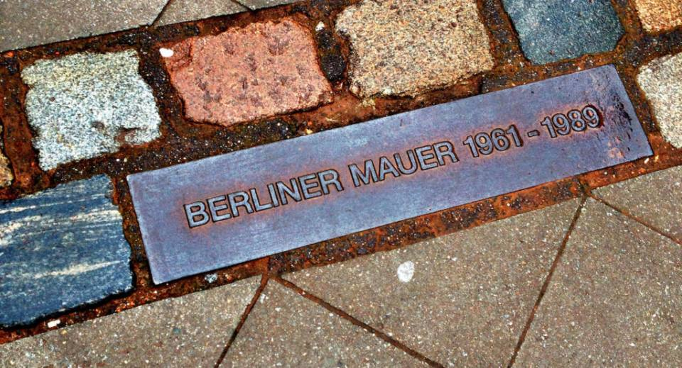 Berlin Wall: One Year After it was built