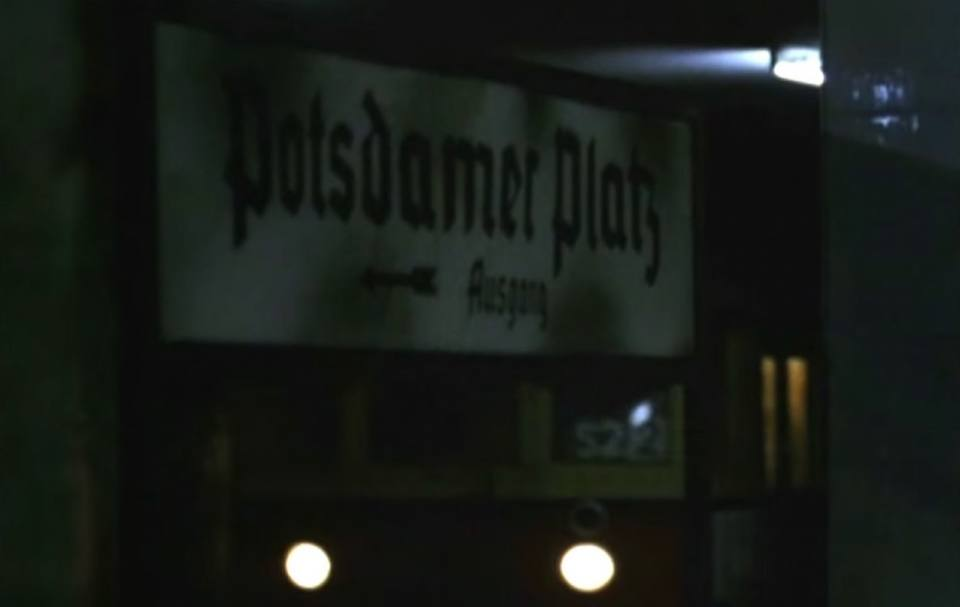 Berlin Ghost Stations: Potsdamer Platz 1989