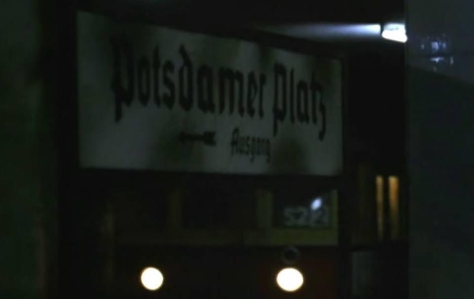 Berlin Ghost Stations: Potsdamer Platz 1989