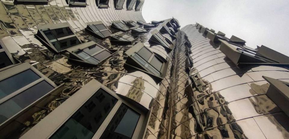 The Gehry Buildings of Dusseldorf Harbor