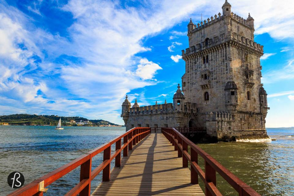 things to do in lisbon - Take the train to enjoy what is outside the city center Mosteiro Jeronimos and Torre de Belem are very well known postcards of this incredible city. But in any way this means that they are ok to skip. They are a bit outside of the city center but it is just a train or bus ride away. The architectural beauty of both of those places are just overshadowed by the beauty of Lisbon's sunset. That you can see coloring the sky right behind Belem Tower or the Mosteiro. Since one is on one side and the other on opposite, you can capture the full spectrum of colors if you're fast enough. They are close but not necessarily that close. And if you have to choose one, go with the Belem Tower.