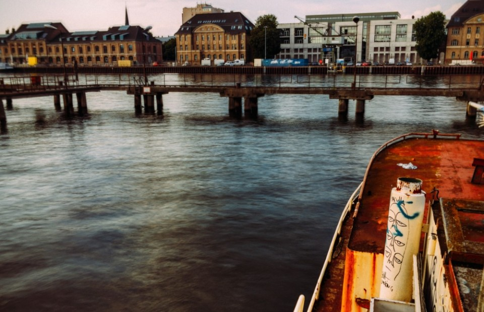 A Visit to an Abandoned Boat in the Spree River