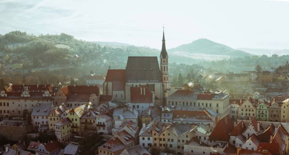 A Winter Walk Among the Cobbled Streets of Cesky Krumlov