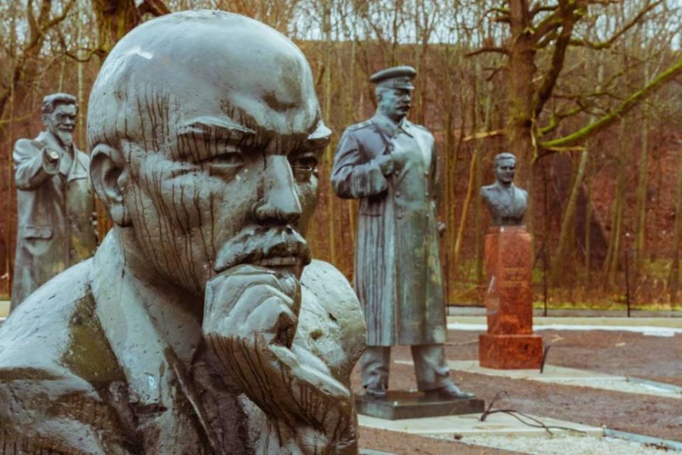 Our Visit to the Soviet Statue Graveyard in Tallinn