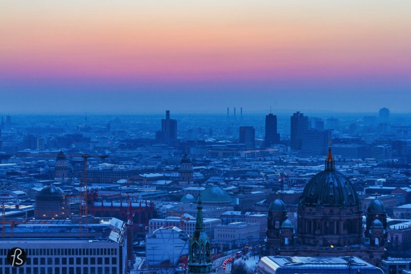 This one is for all of you who love taking good pictures while traveling. These are my most favorite sites to have an incredible view of Berlin. There's not much to say over here besides the fact that you must check if they are open because some of them close its doors during winter.