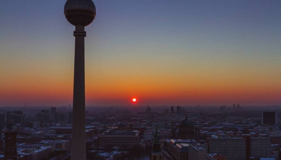 Berlin from Above: The Amazing View from the Park Inn Hotel Alexanderplatz Viewing Platform