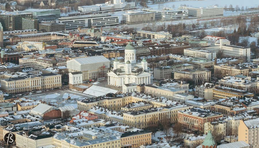 My first time in Helsinki during winter was pretty special and I can say that it was all because of the helicopter ride that I did over the frozen city. It was my first time in a helicopter and I was more than excited about that.