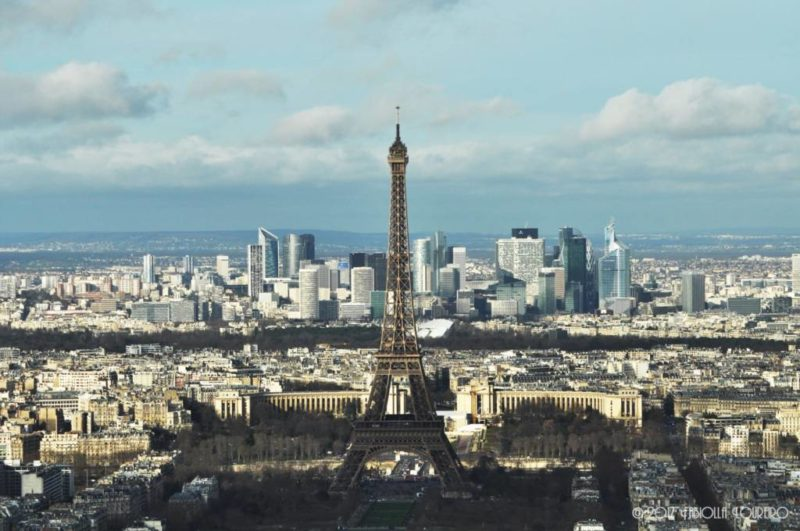 Some say that the best view of Paris lies on the top of the Montparnasse Tower. Being there myself, I can't say they're wrong. The tower is one of the most tall buildings in Paris (200m) and from there you have a 360° view from all city and, the plus is that from there, you get the chance to also view the Eiffel Tower, right in front of you, the iron lady and all its splendor.