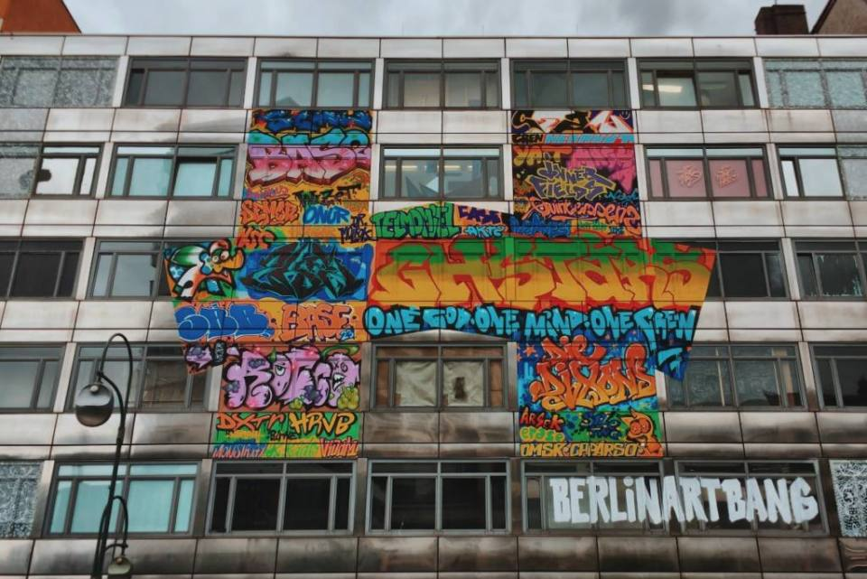 The Haus: Turning a soon to be demolished Bank into a Temporary Gallery for Street Art