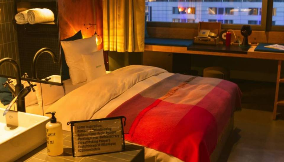 Where to stay in West Berlin: 25hours Hotel Berlin