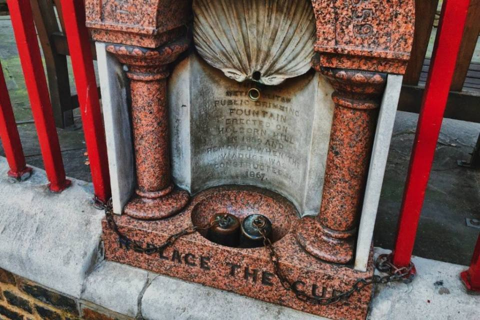 The First Public Drinking Fountain in London