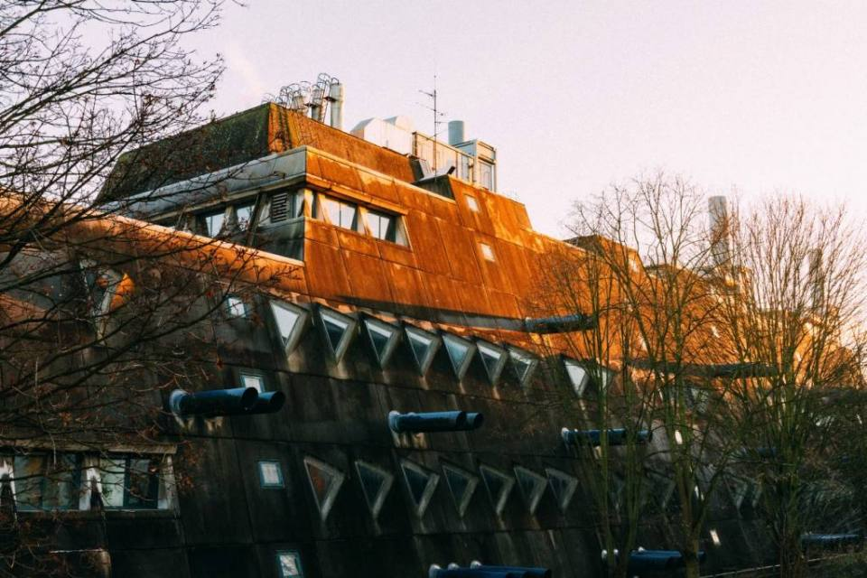 Mäusebunker: Exploring Berlin Architectural Brutalism in Lichterfelde
