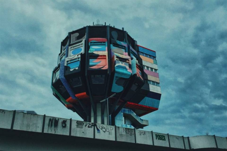 Bierpinsel – Another Crazy Example of Architectural Brutalism in Berlin