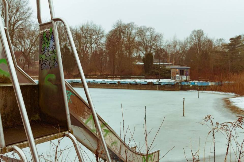 The Abandoned Freibad Wernersee