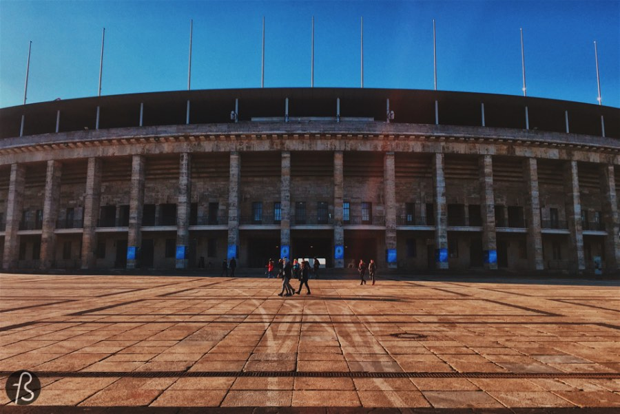 Olympiastadion is the largest stadium in Germany, and it has a, somewhat, dark history to it since it was originally built for the 1936 Berlin Summer Olympics. That one where the Nazi Party decided to show what they were all about when it comes to propaganda. Nowadays the stadium is the home ground from Hertha BSC, Berlin's most famous football team. All this history is, for me, what makes the Olympiastadion such an unusual place: the mixture of its dark history and its brilliant present. This is why a visit to the Olympiastadion is such an interesting one.