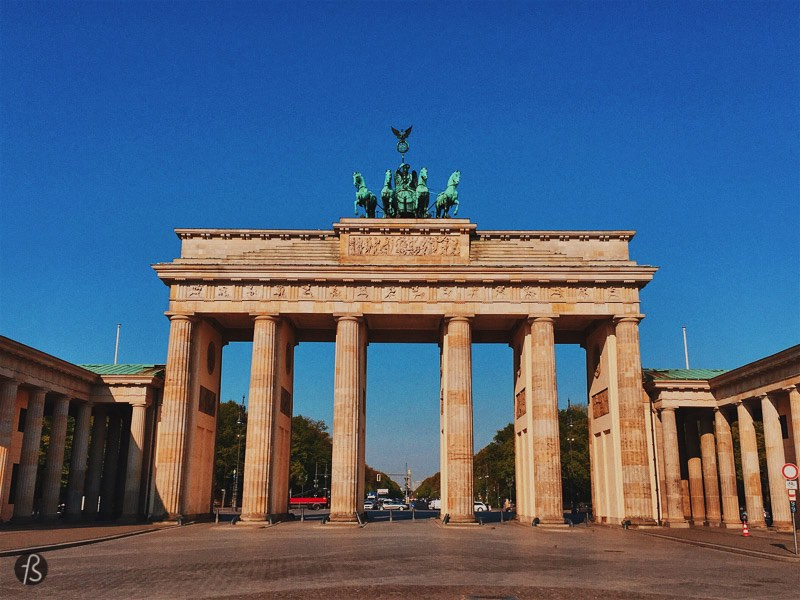 You cannot visit Berlin without taking a picture of the famous Brandenburger Tor, but everybody has the same picture of it. If you want to try something new you should try to visit it at a different time of the day. Arrive at the Brandenburger Tor before the tourist comes, and you will get an empty view of it. Or try to get there late at night and the same will happen.