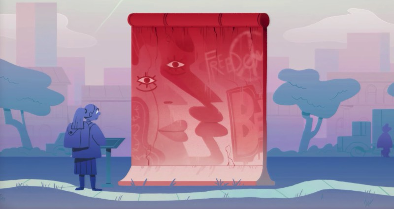 Konrad H. Jarausch explains the Rise and Fall of the Berlin Wall on a TED-ED video animation