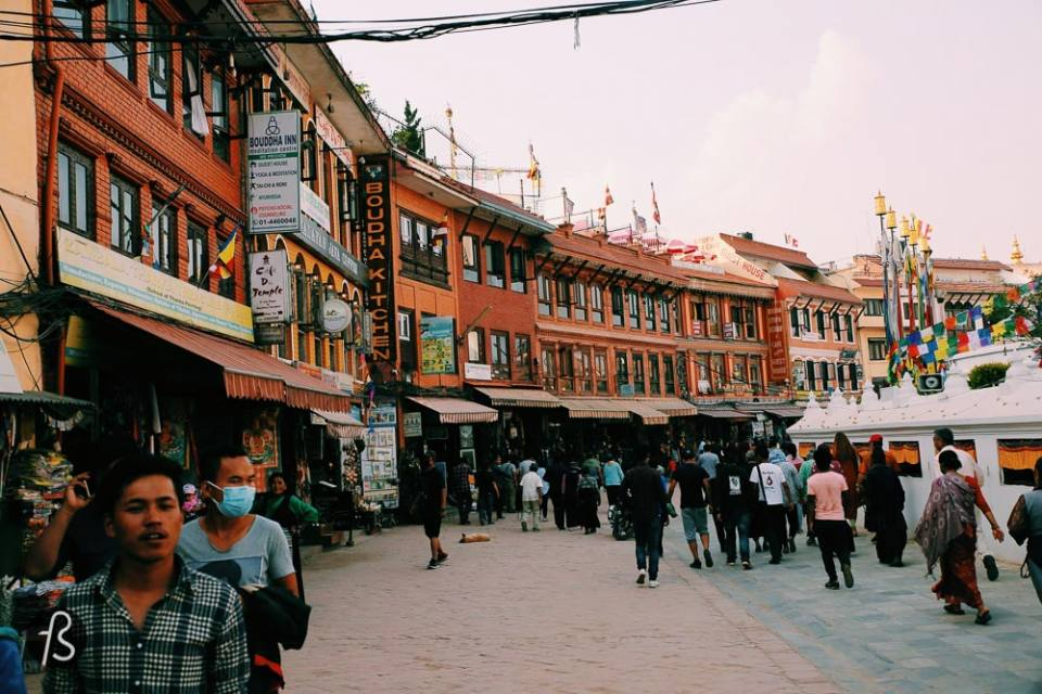 Marcela Fae - fotostrasse - Nepal Buddhist Temple -6
