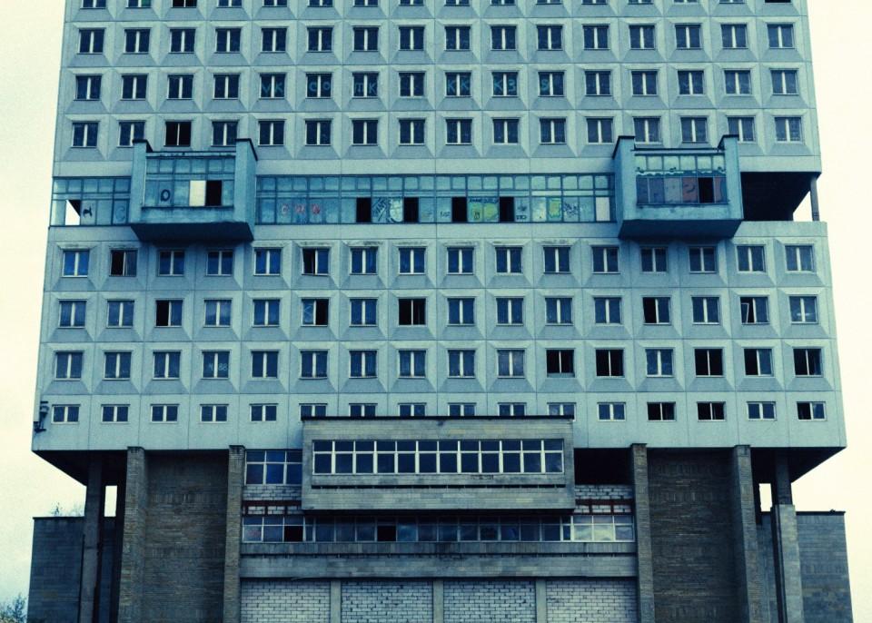 Visiting the House of Soviets in Kaliningrad