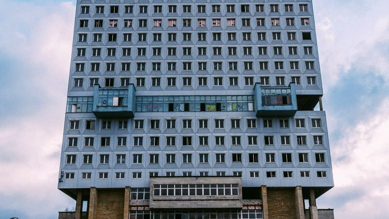 When @fotostrasse visited the House of Soviets in Kaliningrad, Russia