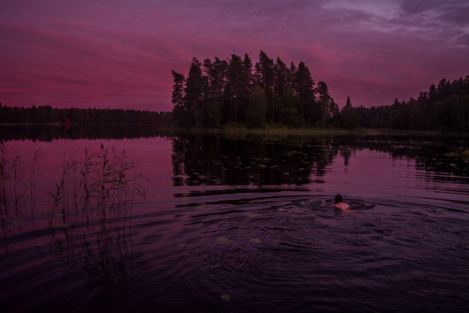 From the International Wilderness Guide School Of Tampere with love…