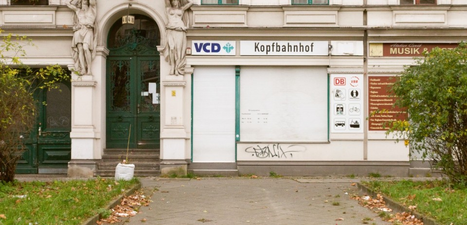 Last Morning of Risiko, one of Berlin's legendary bars from the 1980's