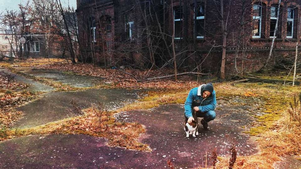 Guben and a cool urban exploration with cats