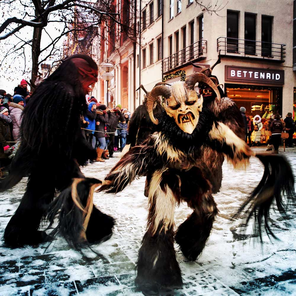Munich Krampuslauf: Christmas Horrors in the South of Germany with Krampus