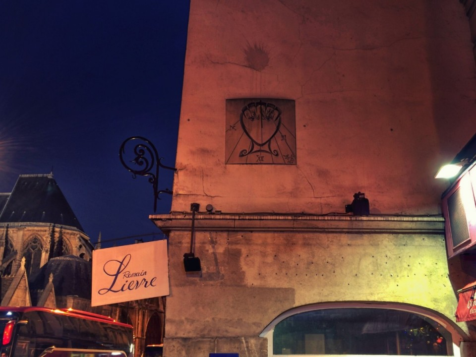 Salvador Dalí Sundial in Paris