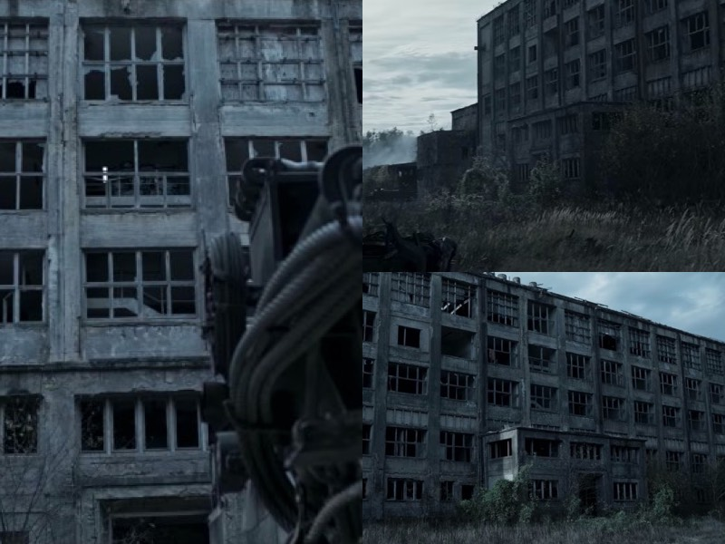 The second scene that seemed familiar to me happened when Jonas plays some Elvis Presley to distract some survivors in a tank. His goal is to steal gas from them, and he leaves the music playing from a window in a huge building. That place is known as Chemiewerk Rüdersdorf, and it has been used as a location for series and movies for a while now. Even Rammstein used the area when they were filming Deutschland.