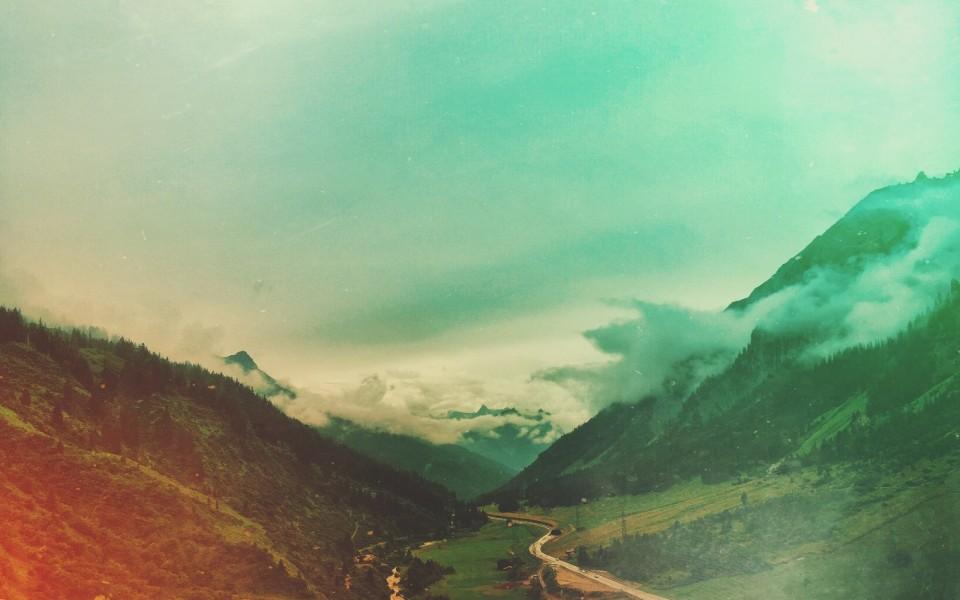 A Summer Day in Lech am Arlberg